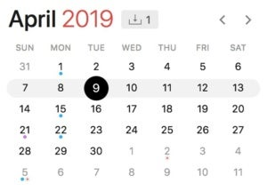 microsoft patch tuesday schedule 2019