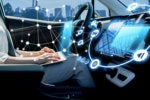 autonomous vehicle with virtual interface