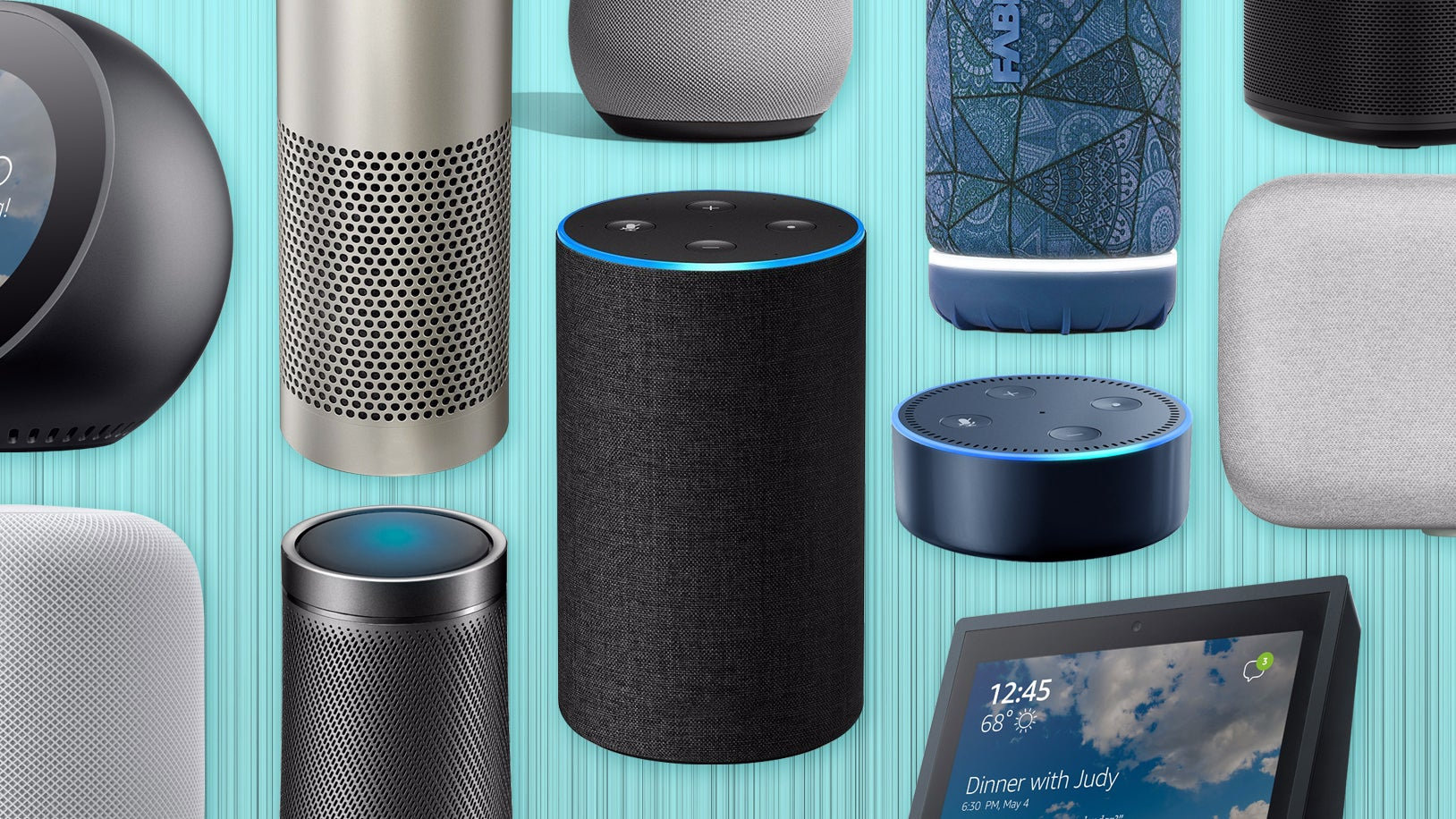 Image result for smart speakers with voice assistant
