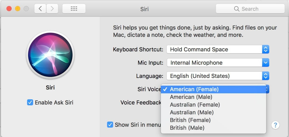 How to change Siri's voice | Macworld