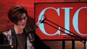 Maryfran Johnson hosting CIO Leadership Live Video