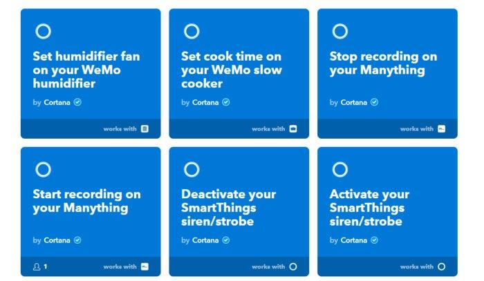 Cortana's smart-home powers grow with IFTTT, Honeywell