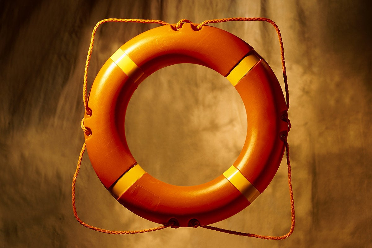 life preserver - personal floatation device