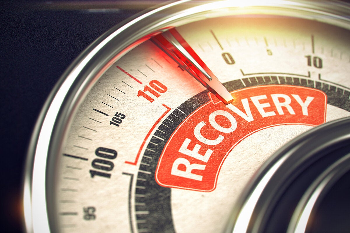 recovery gauge [disaster recovery - crisis survival - business continuity]