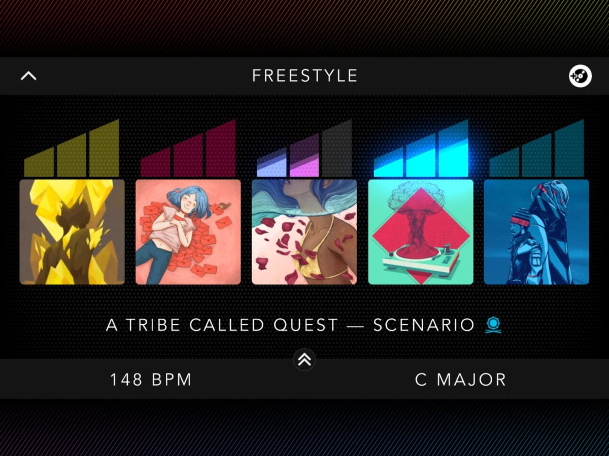 dropmix screen