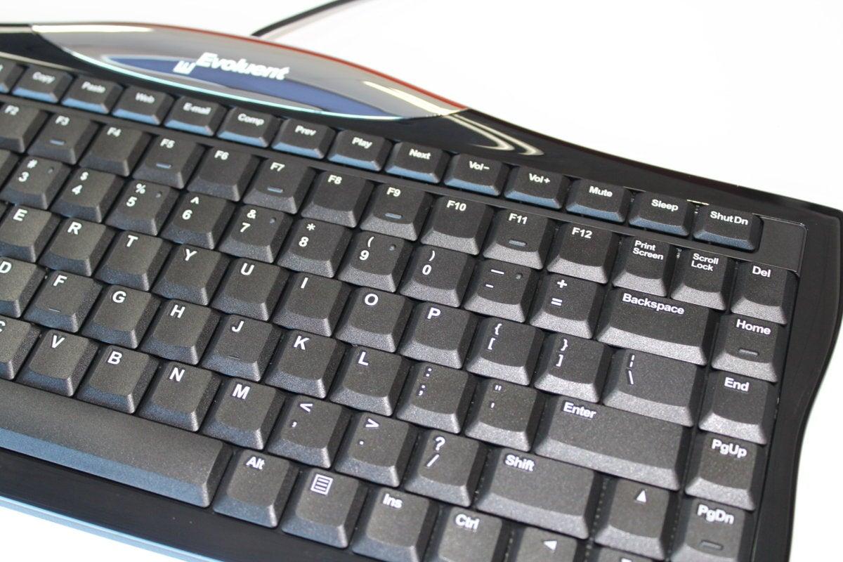 evoluent r3k reduced reach right hand keyboard detail
