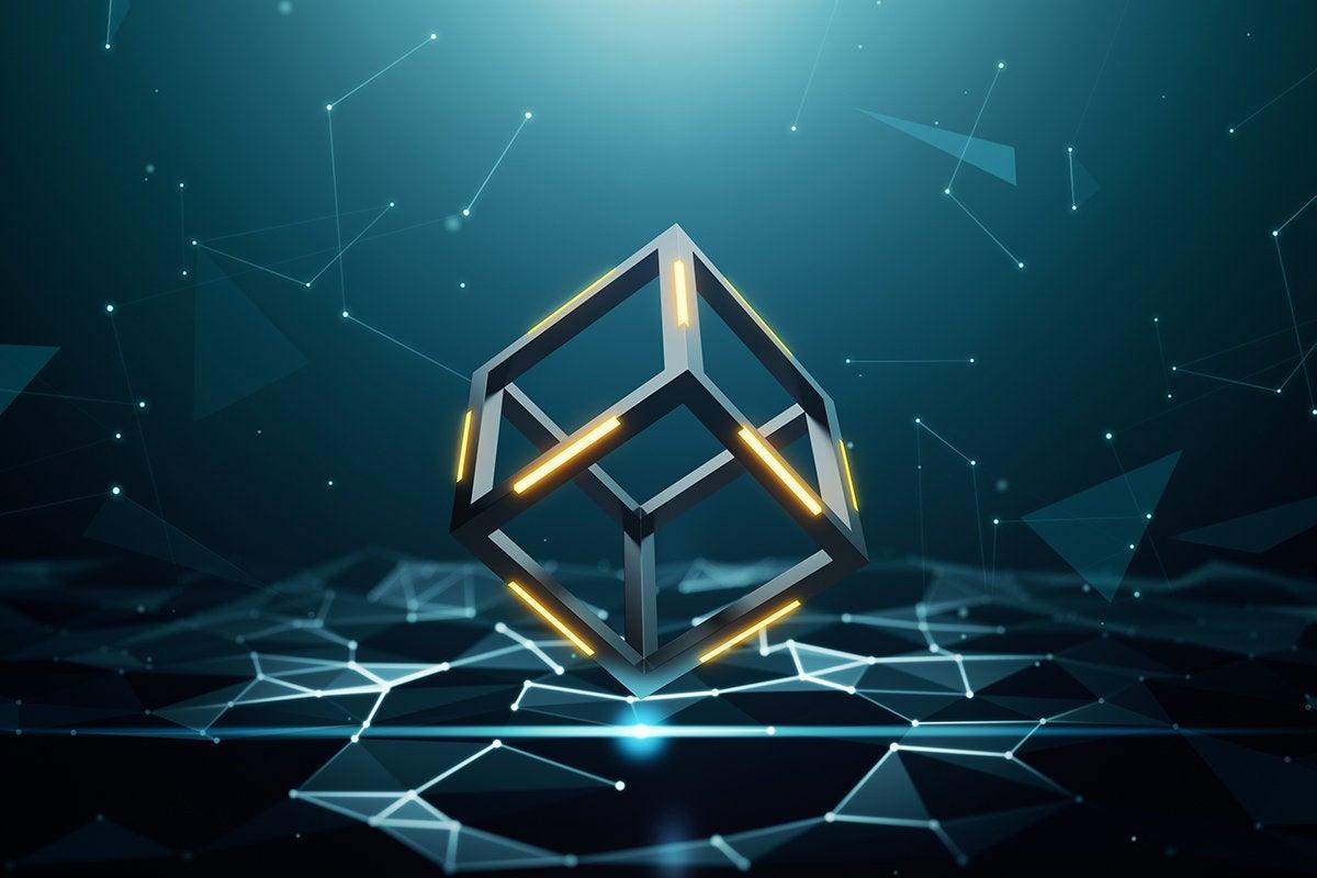 abstract blockchain representation