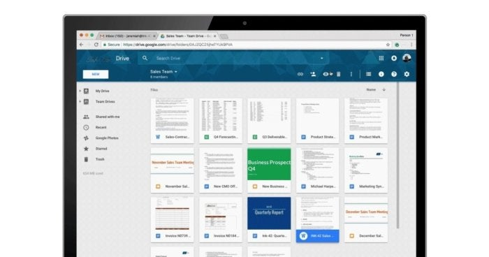 New commenting capabilities in Google Drive file share and collaboration platform