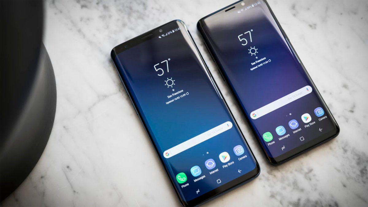 The Galaxy S9 looks like an S8 on the outside, but is all new on the