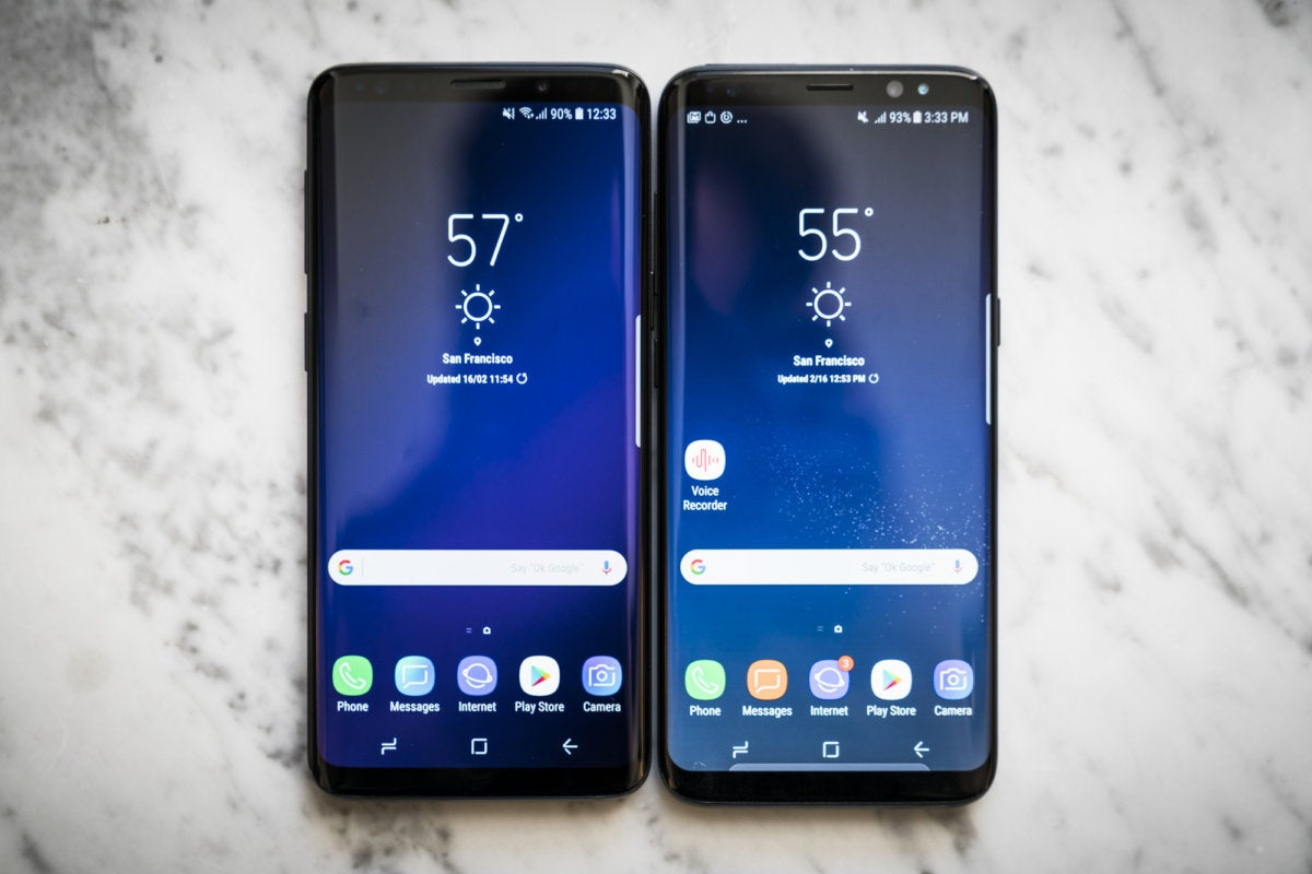 Samsung S Versus Iphone X