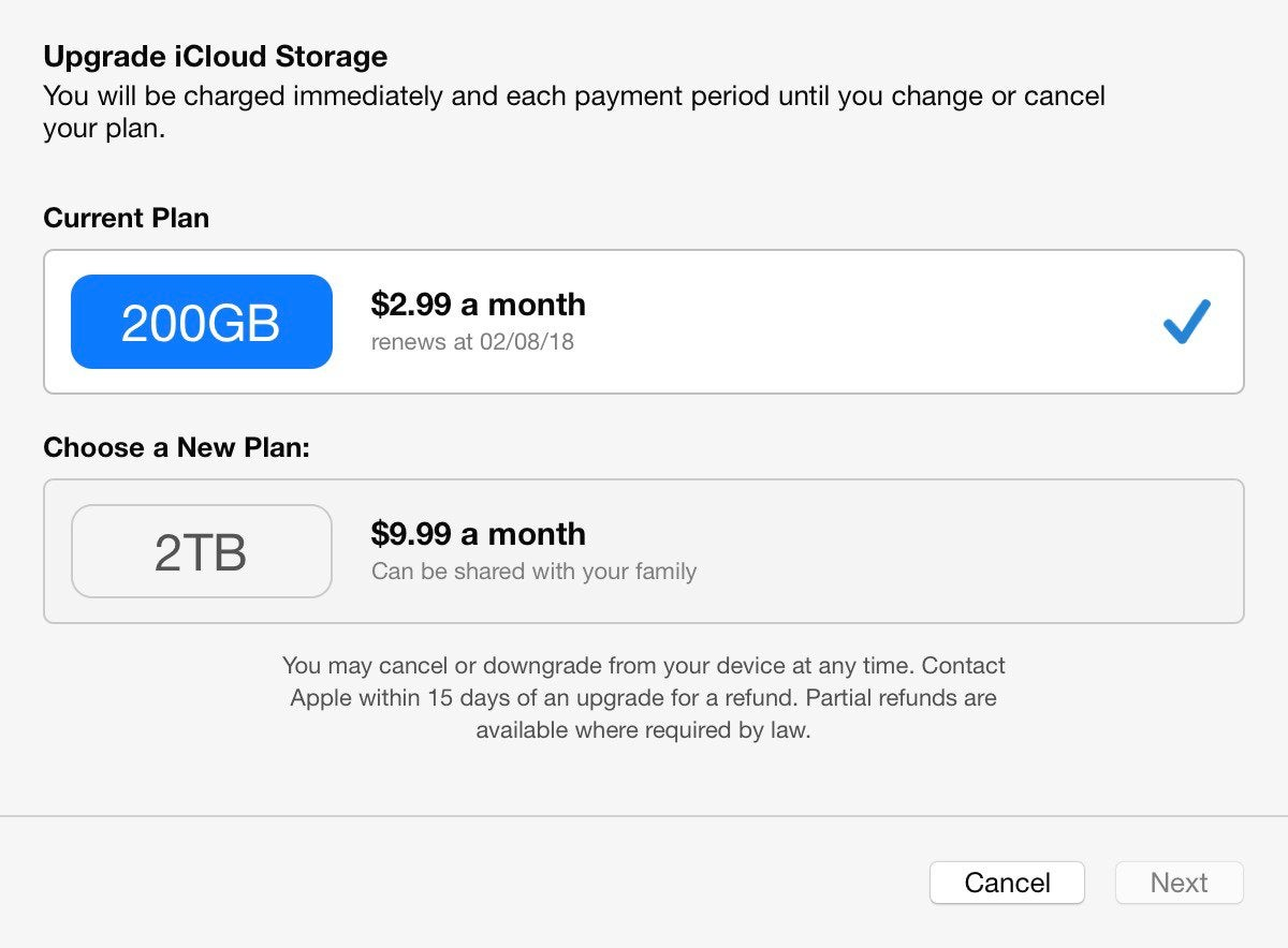 How to avoid paying Apple for extra iCloud storage