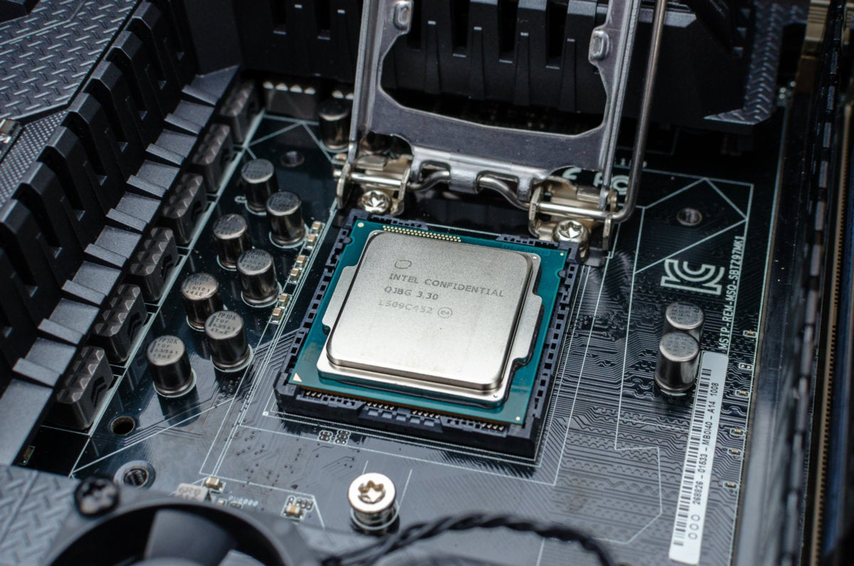 install intel cpu motherboard