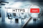 secure encrypted internet web browser alert