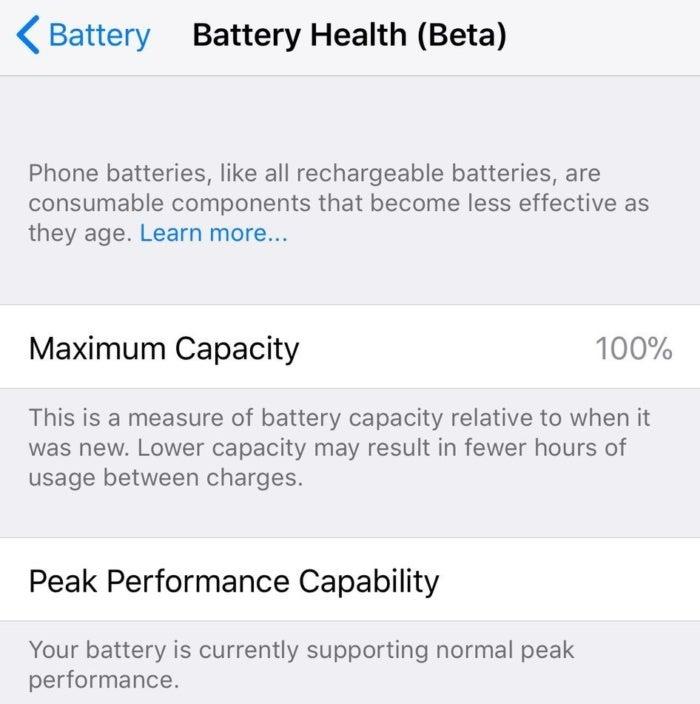 ios 11 3 battery
