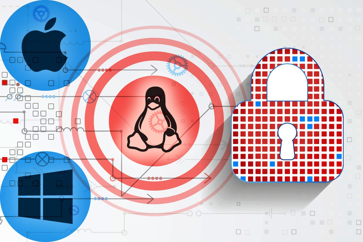 Linux security moves ahead of macOS and Windows
