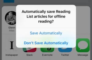 mac911 ios offline reading list setting