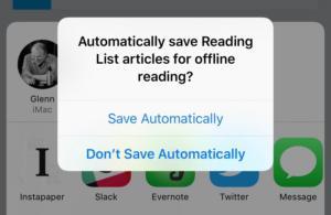 mac911 ios offline reading list setting