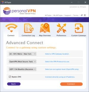 WiTopia personalVPN review: It's all about choices | PCWorld