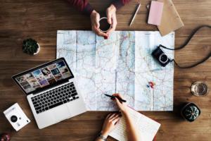 pexels macbook travel