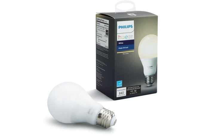 photo image Walmart's selling a white Philips Hue lightbulb for $10 today