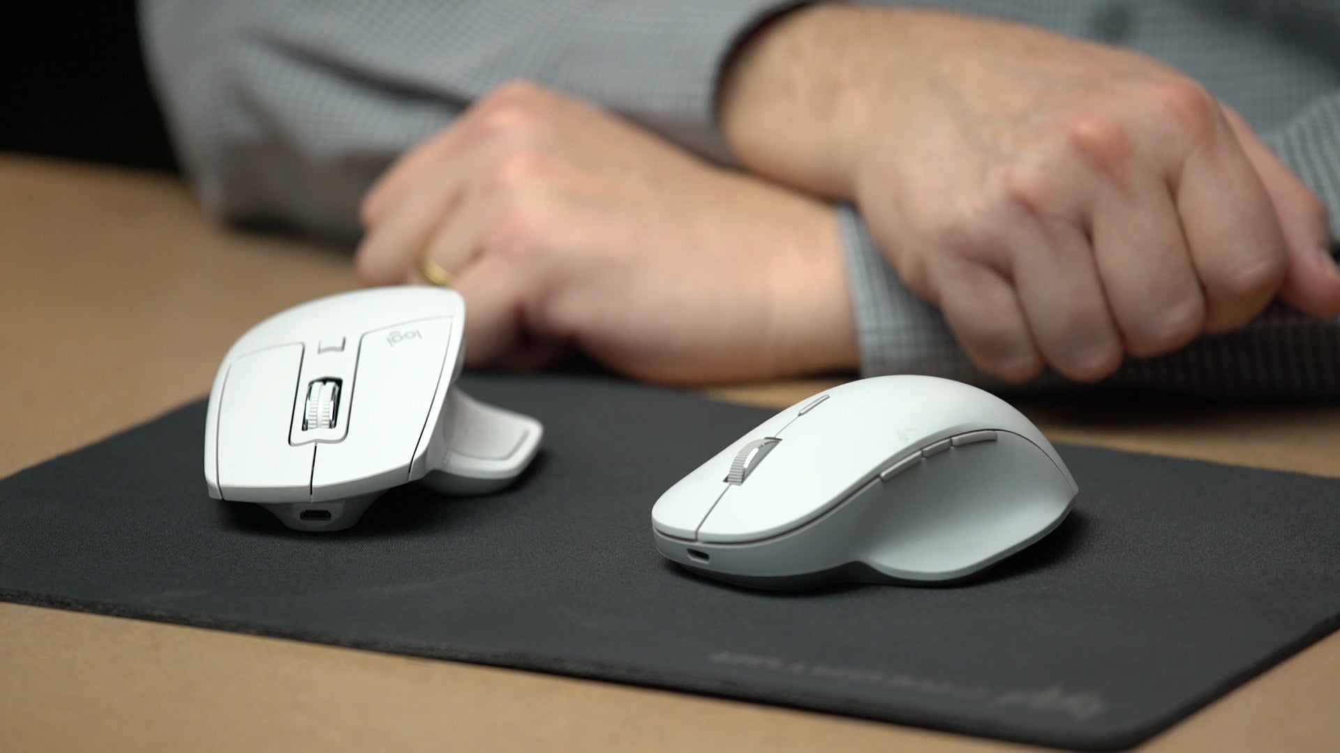Logitech MX vs  Microsoft Surface Precision Mouse: What makes a $100