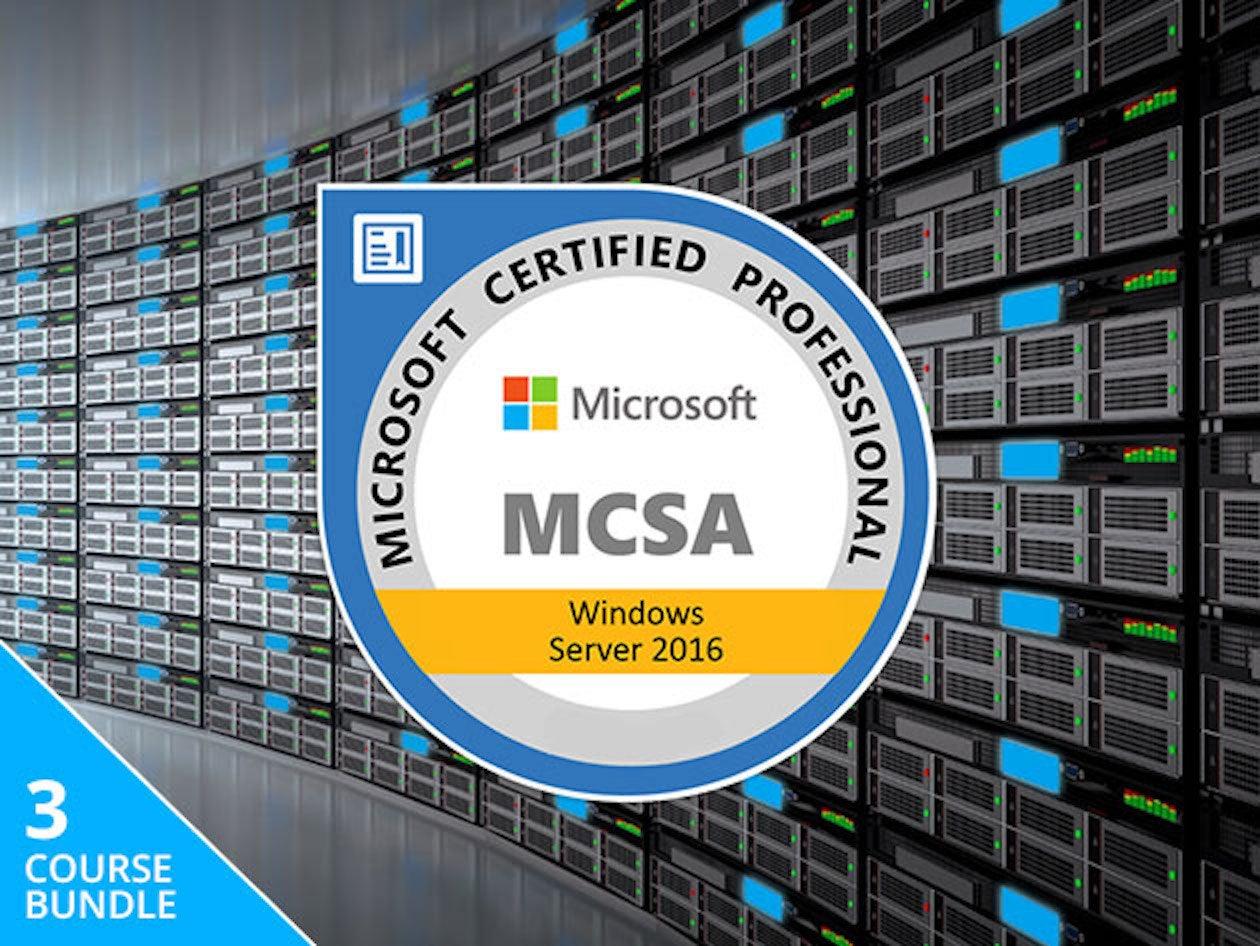 Save Hundreds On The Lifetime Mcsa Windows Server 2016 Bundle Pcworld