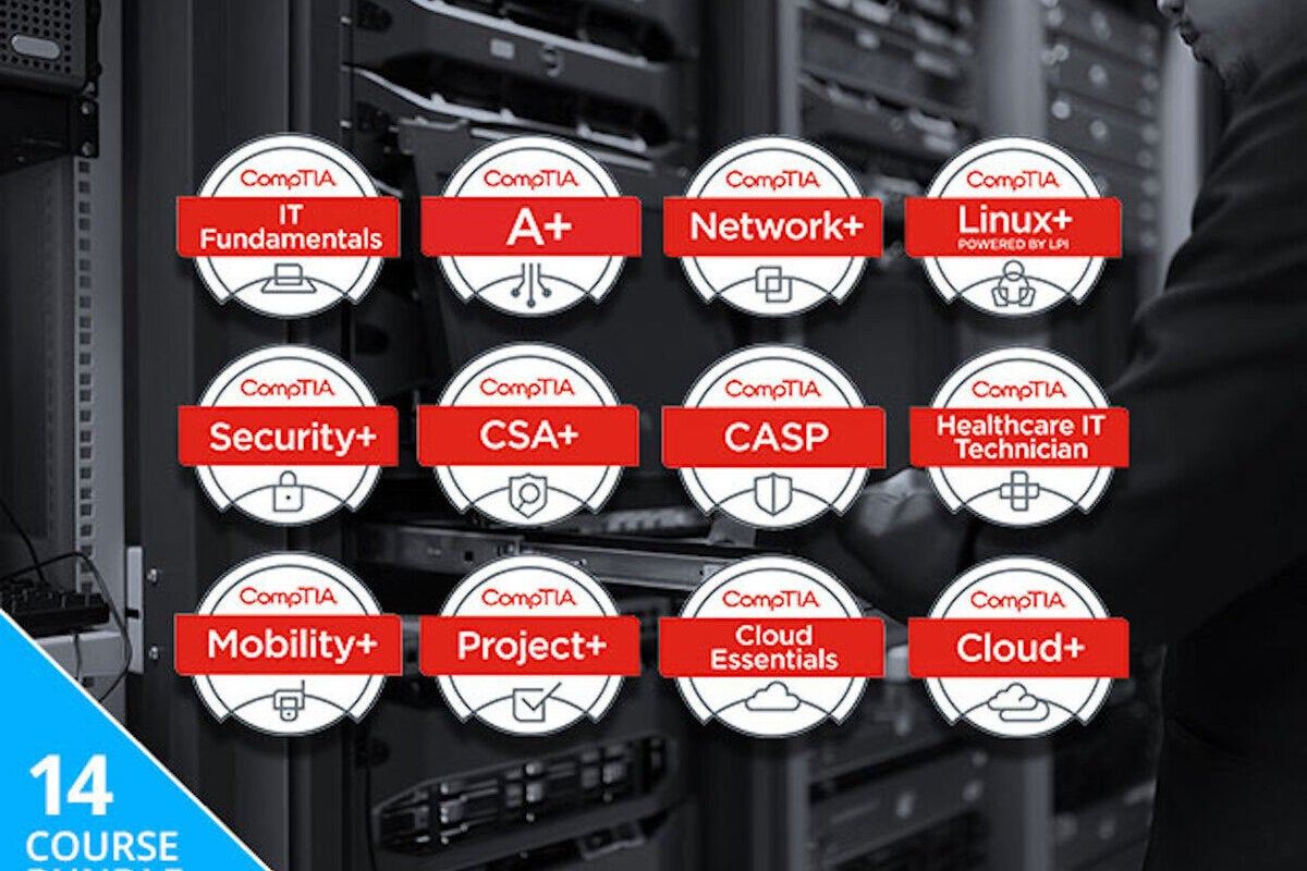 photo image Save Hundreds On The The Complete 2018 CompTIA Certification Training Bundle ($59)