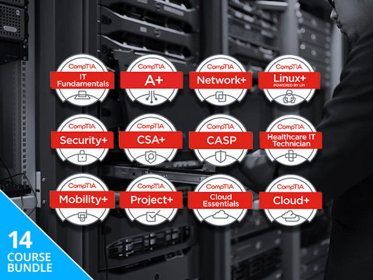 Save Hundreds On The The Complete 2018 Comptia Certification