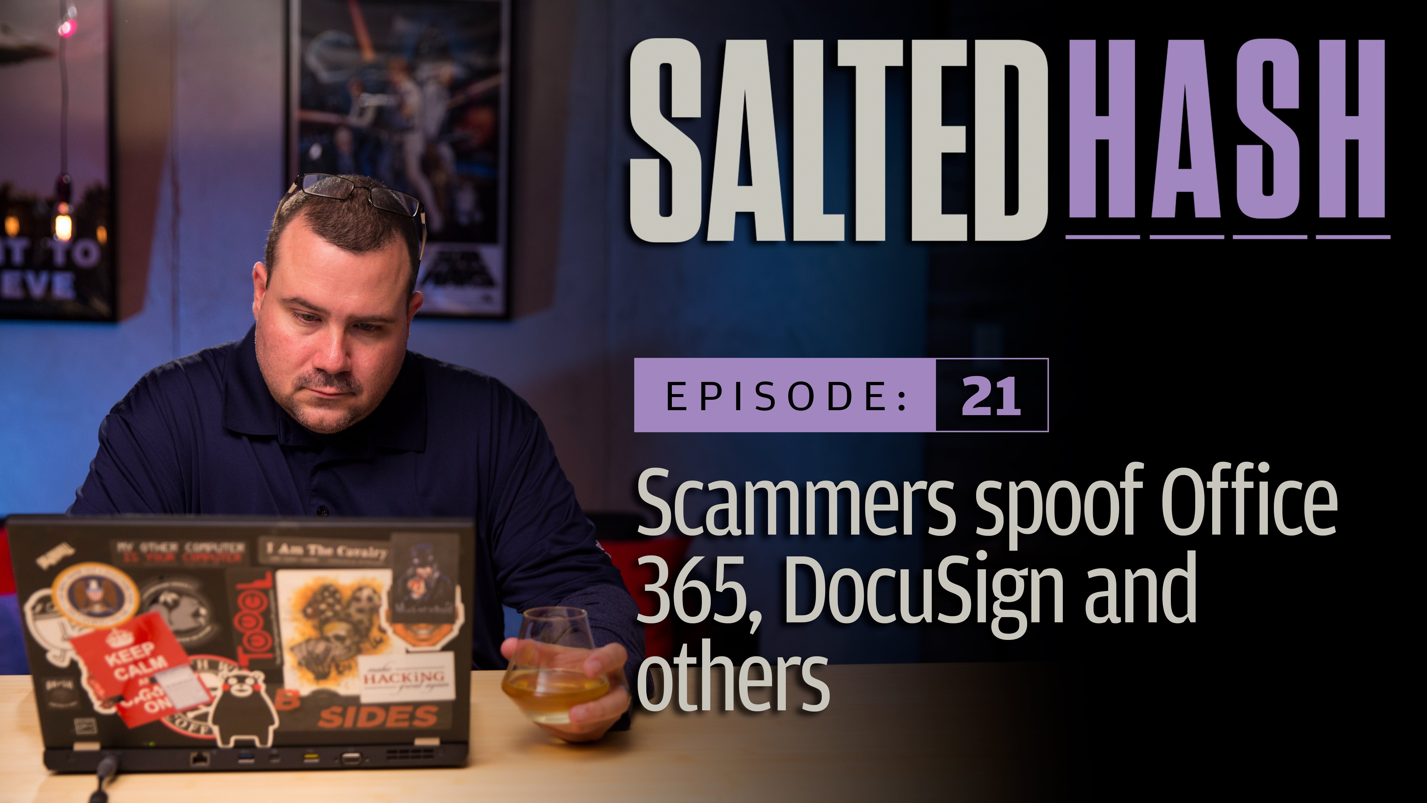 Scammers spoof Office 365, DocuSign and others | Salted Hash Ep 21
