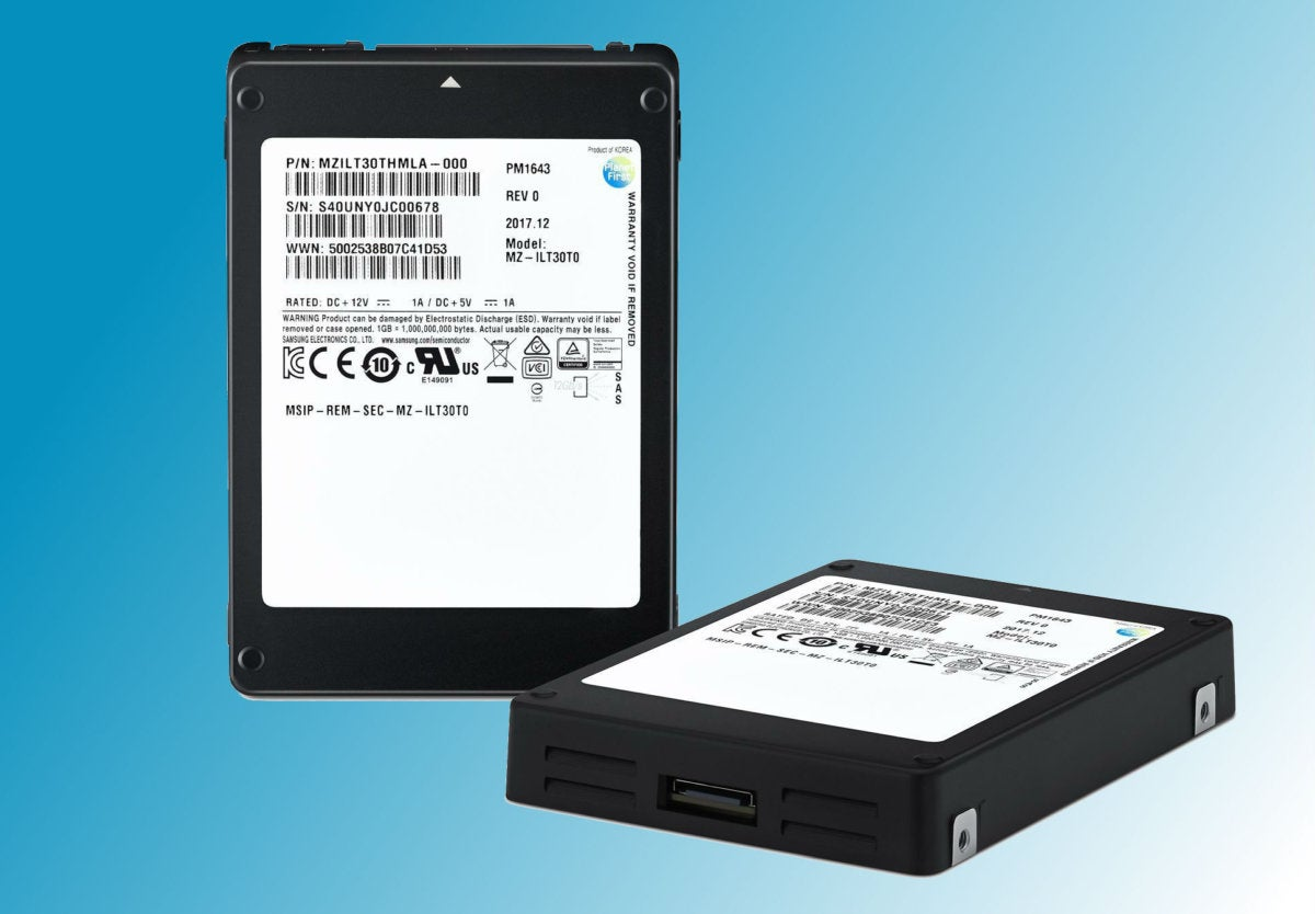 samsung pm1643 ssd primary