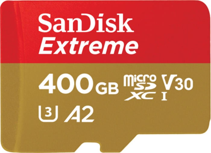 sandisk 400gb extreme