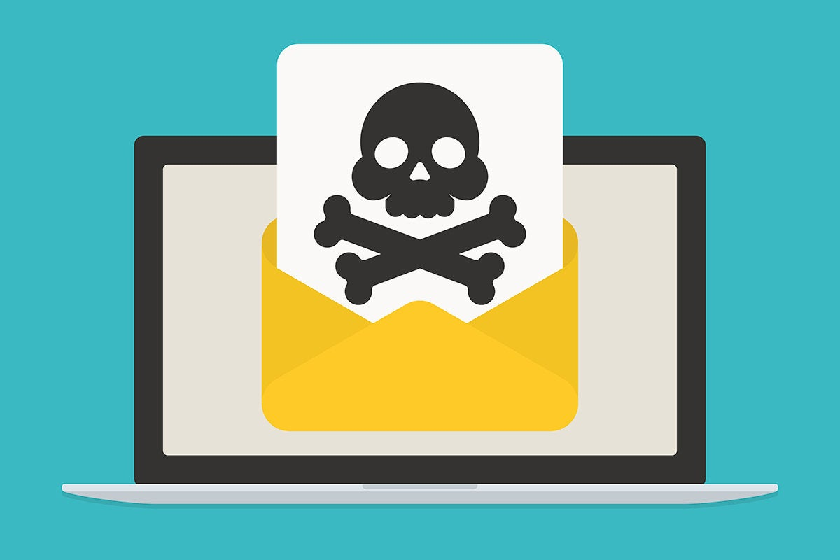 email security risk - phishing / malware