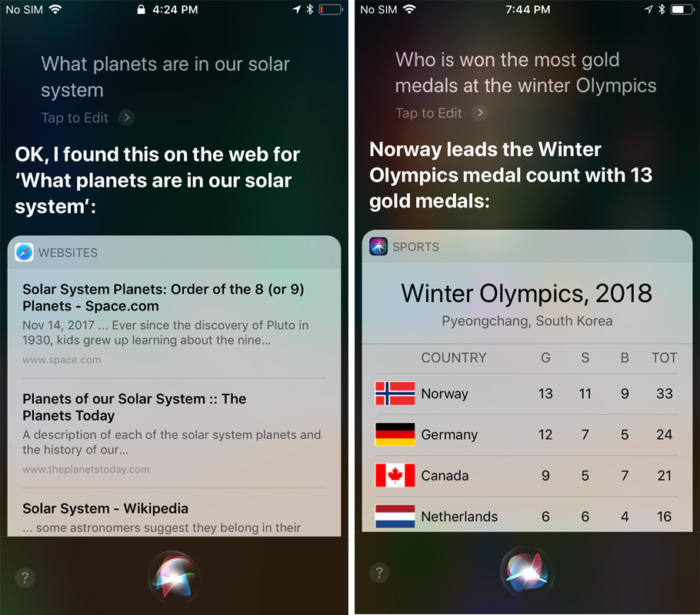 Siri vs Siri: What Apple's AI can and can't do on every