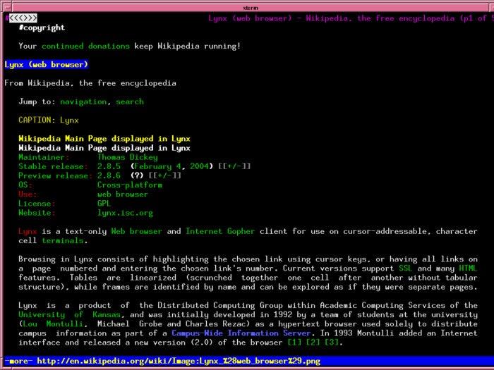slide 19 lynx wikipedia