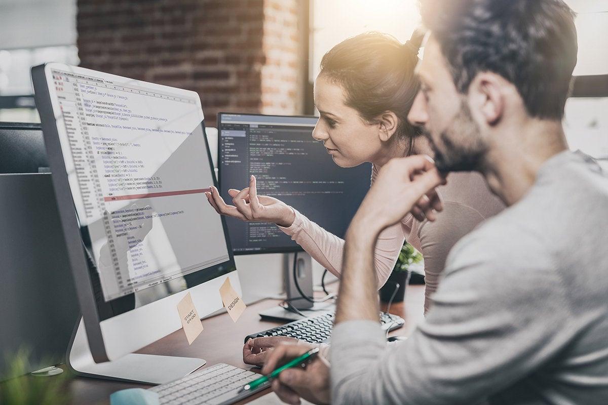 development team coding / programming and planning