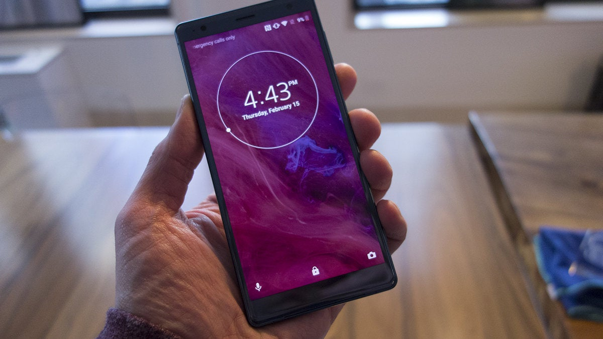 Sony XZ2 hands on: An entertainment powerhouse that looks great