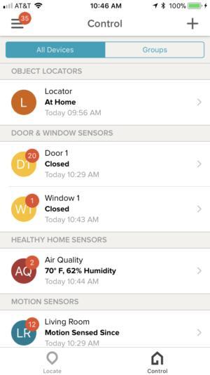 Tabs locator app