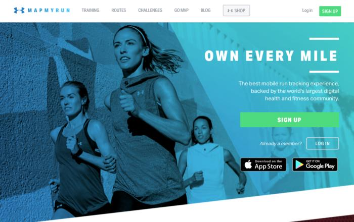 A free 12-month premium membership to UA Map My Run is included.
