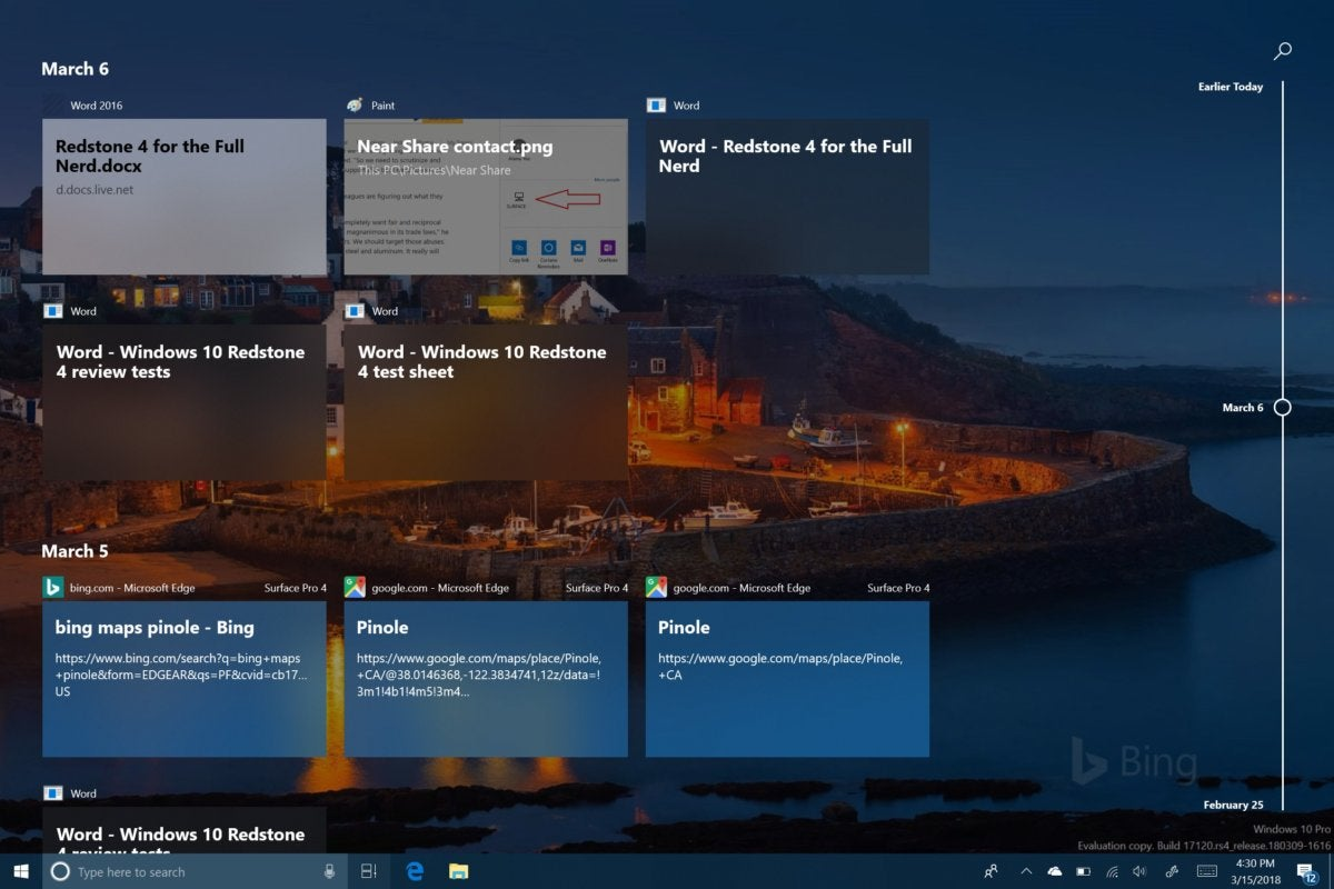 Windows 10 Spring Creators Update Timeline