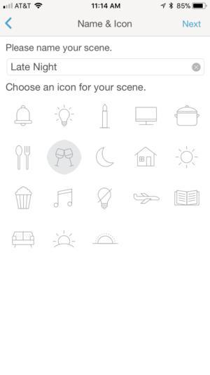 Lutron Caseta app