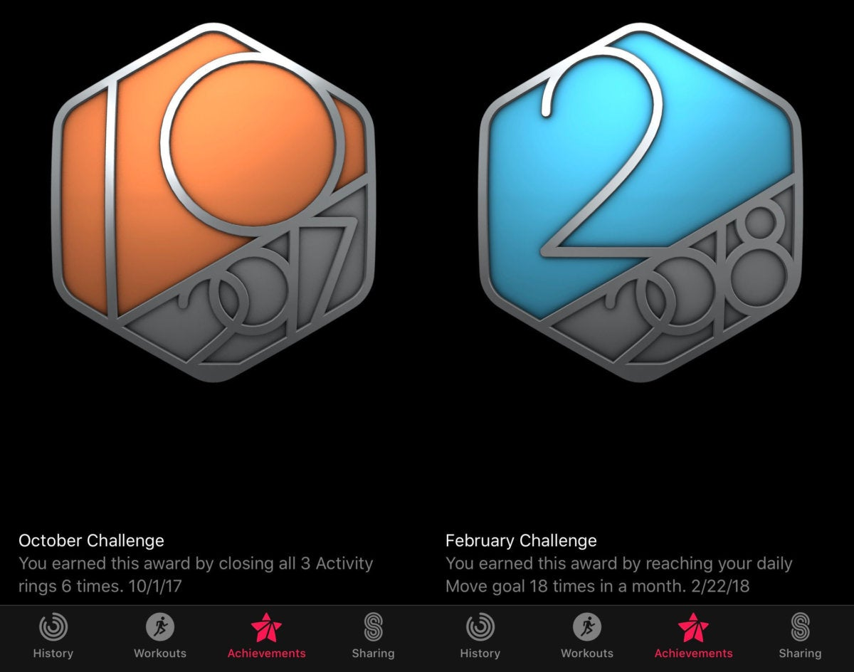 activity monthly challenges