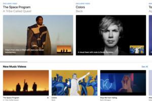 apple music videos copy