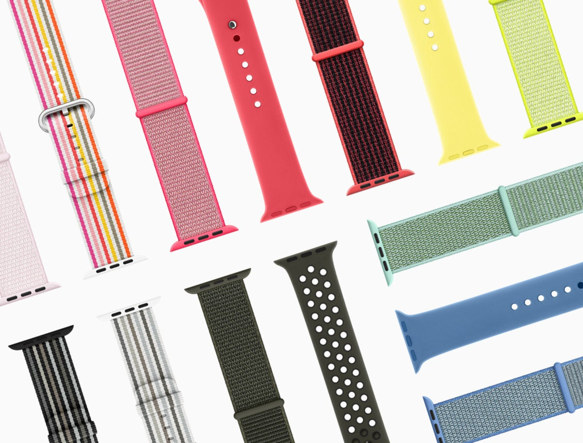 apple watch bands spring 2018