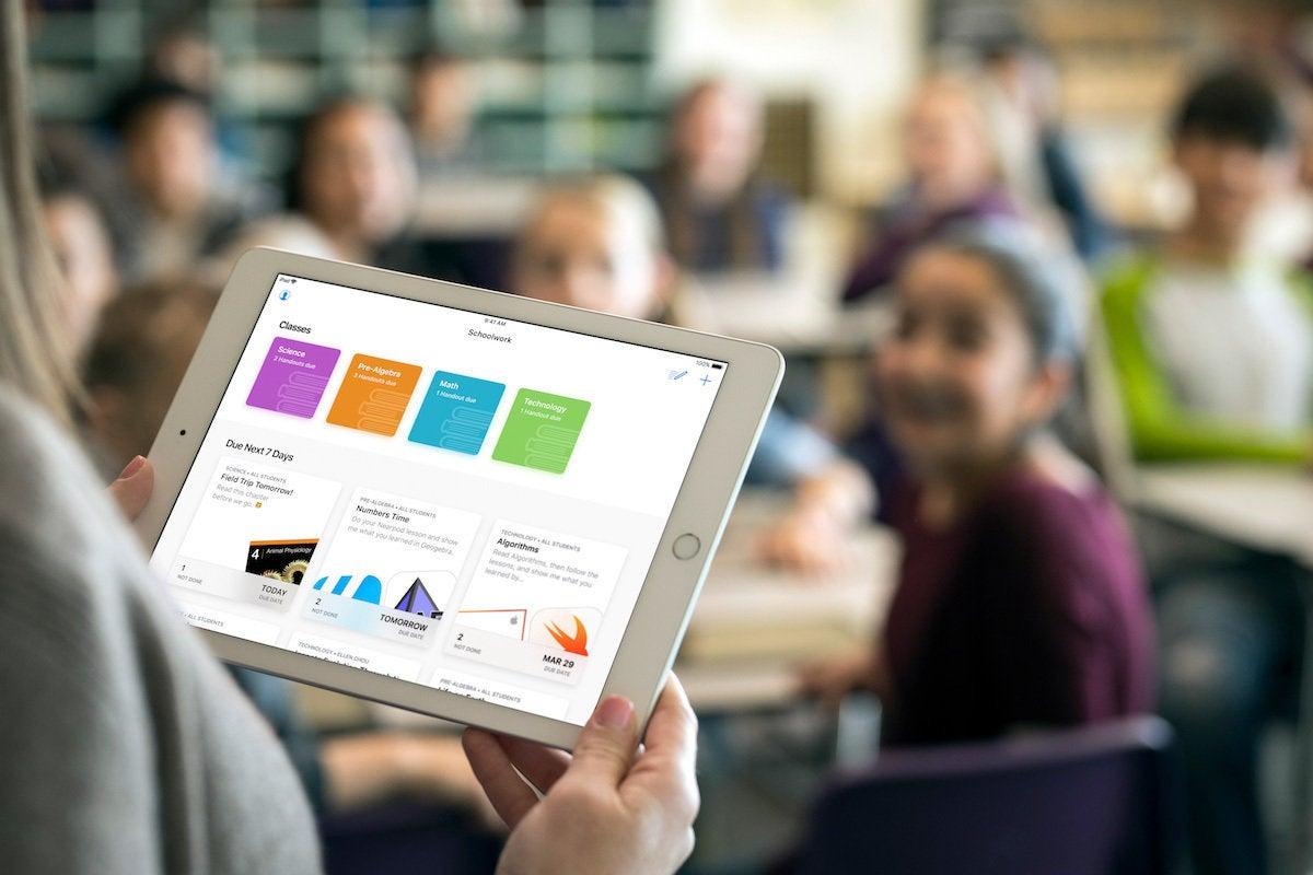 apple ipad schoolwork app 03272018