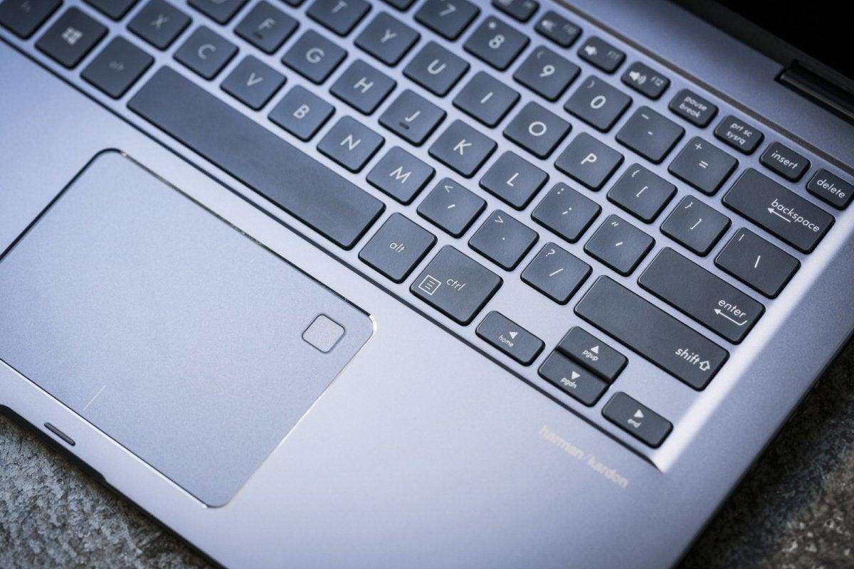 asus zenbook flip 14 ux461un keyboard fingerprint reader