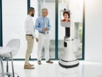 A new telepresence robot takes the stage