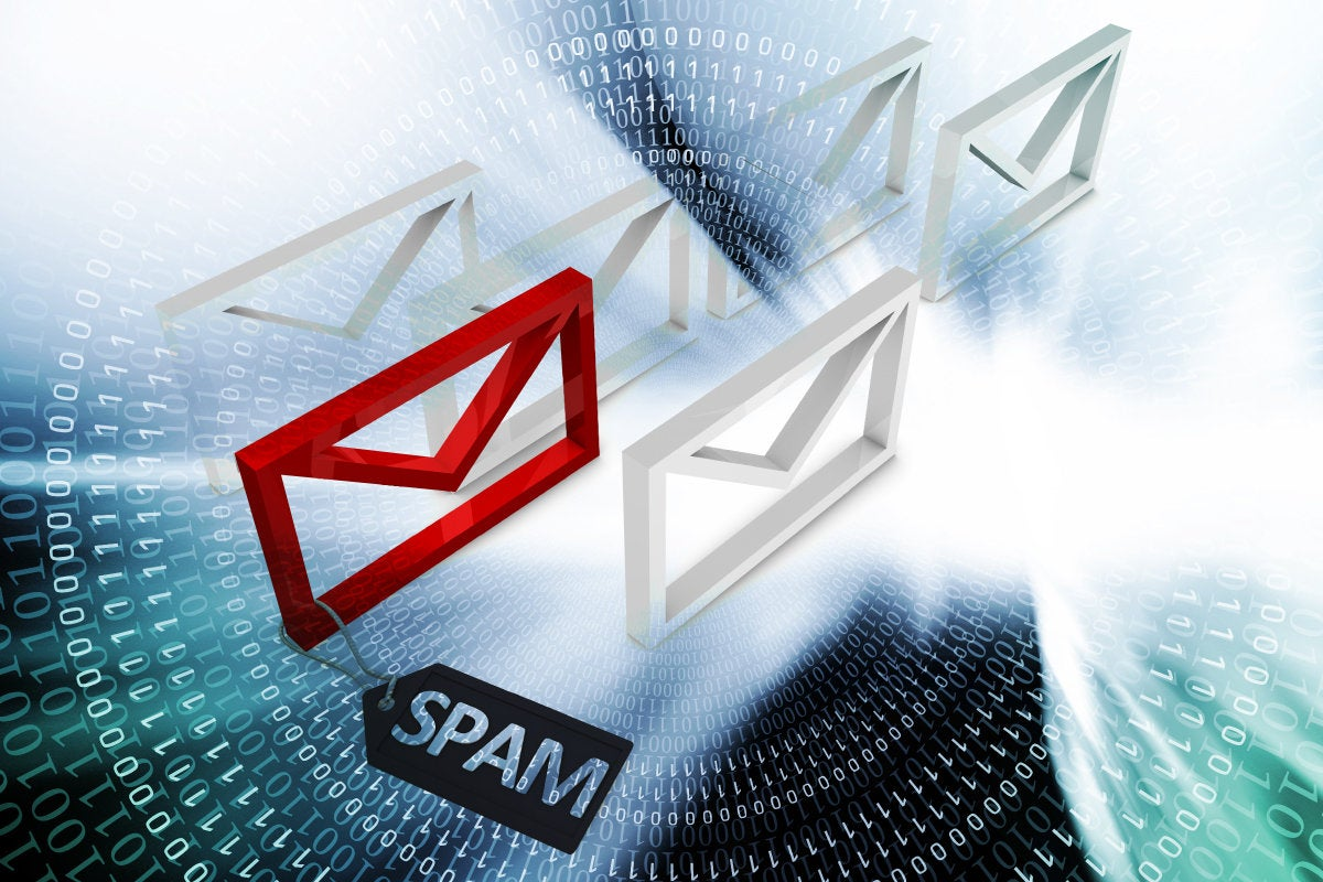 CSO slideshow - Insider Security Breaches - Spam email identified