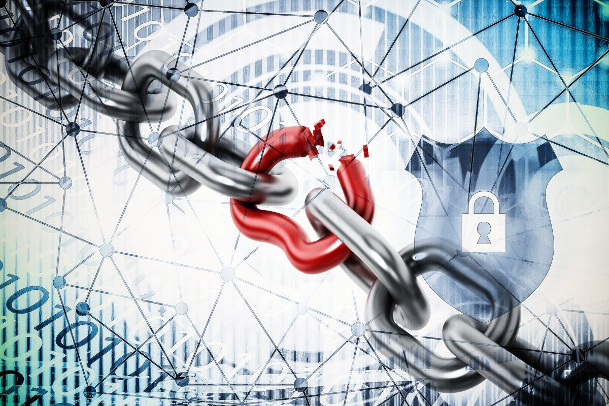 CSO slideshow - Insider Security Breaches - Weak link breaks among a larger chain in a network