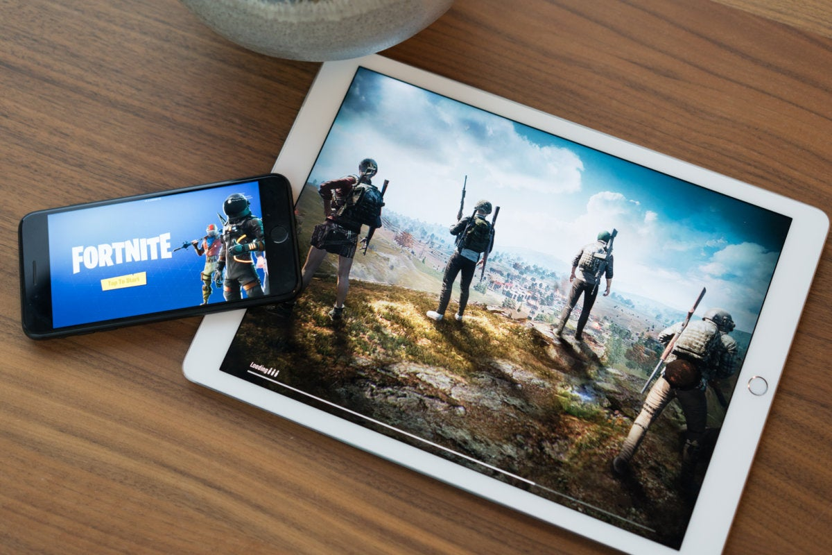 Fornite and PUBG on iPhone and iPad