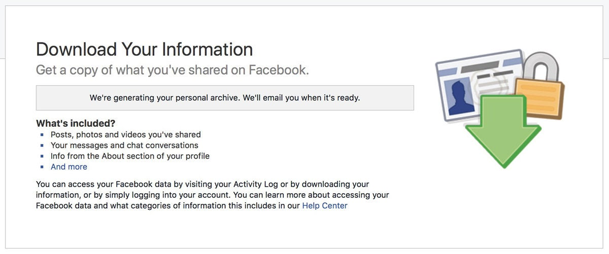 facebook data generating